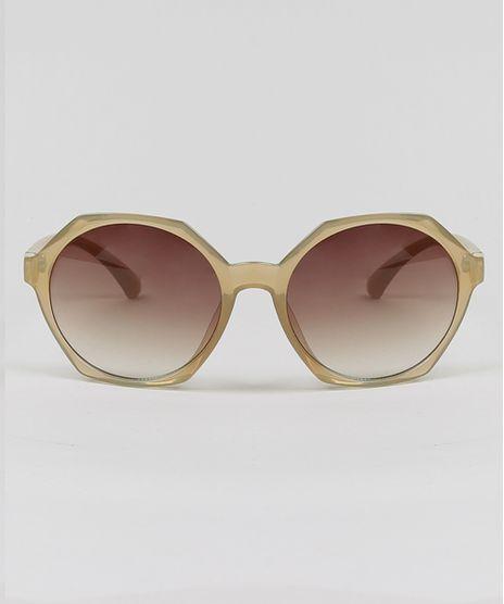 Oculos-de-Sol-Geometrico-Feminino-Oneself-Bege-Claro-9430469-Bege_Claro_1