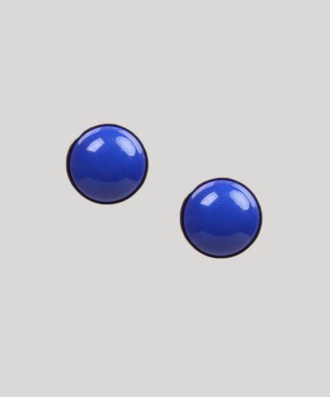 Brinco-Feminino-Redondo-com-Pedra-Azul-9261821-Azul_1