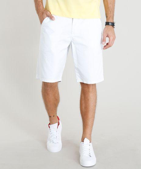 Bermuda-Masculina-Reta-Estampada-Mini-Print-Branca-9310273-Branco_1