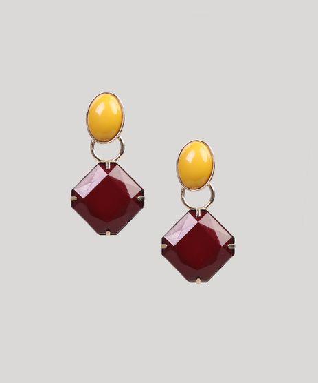 Brinco-Feminino-com-Pedra-Dourado-9261827-Dourado_1