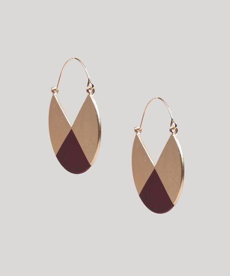 Brinco-Feminino-Geometrico-com-Triangulo-Dourado-9261830-Dourado_1