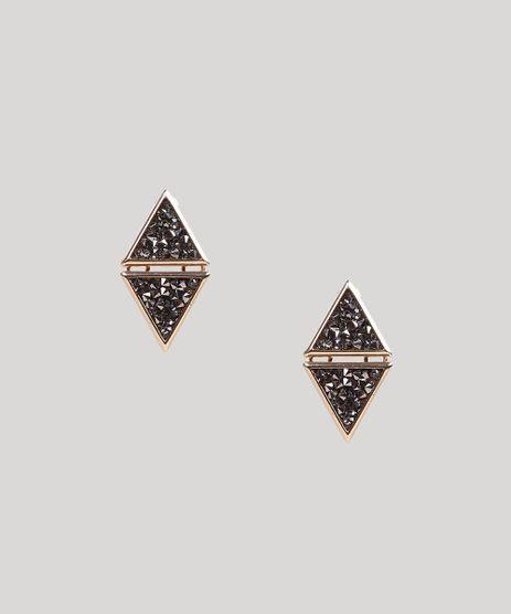 Brinco-Feminino-Geometrico-com-Triangulos-e-Strass-Dourado-8717321-Dourado_1