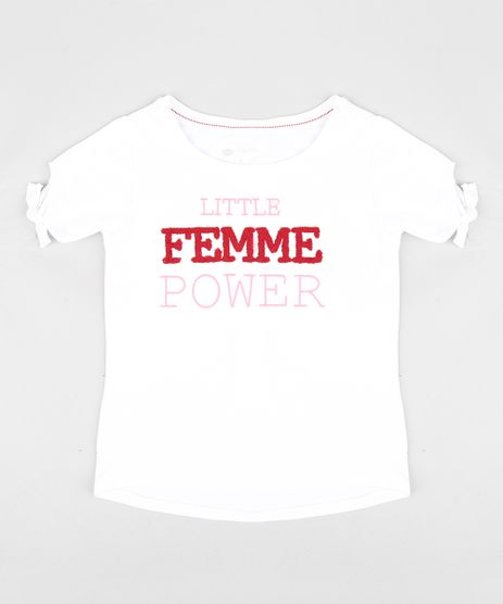 Blusa-Infantil-Triya-Little-Femme-Power-Manga-Curta-Decote-Redondo-Off-White-9350041-Off_White_1
