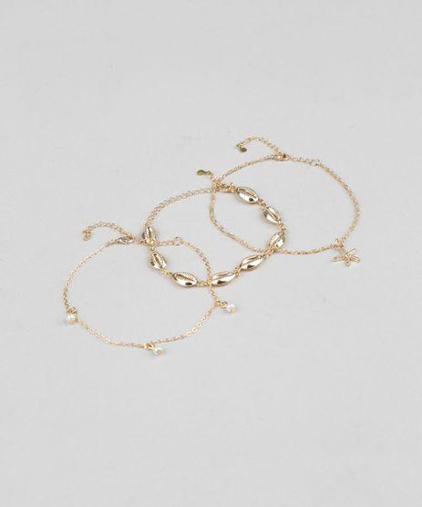 Kit-de-3-Pulseiras-Femininas-Dourada-9289364-Dourado_1