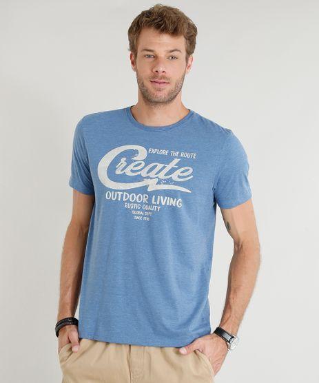 Camiseta-Masculina--Create--Manga-Curta-Gola-Careca-Azul-9374285-Azul_1