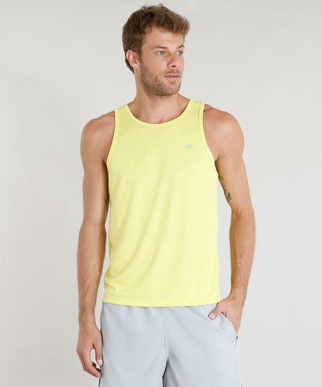 Regata-Masculina-Esportiva-Ace-Basica-Gola-Careca-Amarela-Neon-8573998-Amarelo_Neon_1