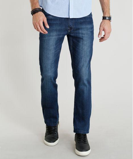 f6a5d062a9 Calca-Jeans-Masculina-Reta-Azul-Escuro-9370752-Azul Escuro 1 ...