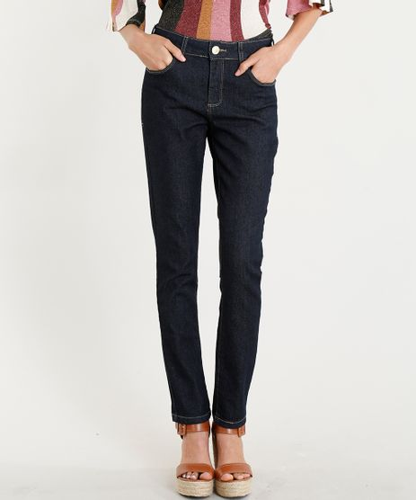 Calca-Jeans-Feminina-Skinny-Cintura-Alta-Azul-Escuro-8778856-Azul_Escuro_1