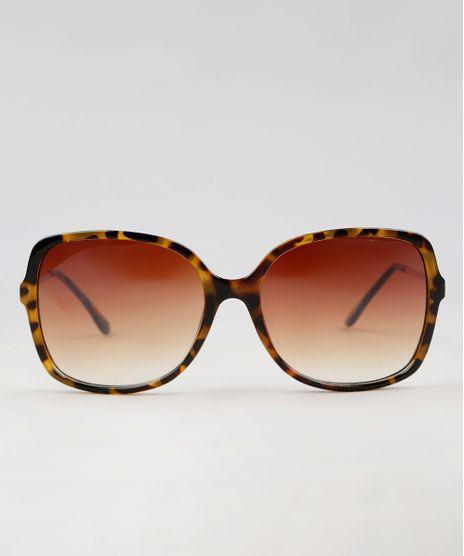 Oculos-de-Sol-Quadrado-Feminino-Oneself-Tartaruga-9435427-Tartaruga_1