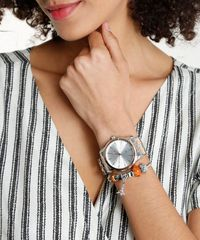 abdd42c8f50 Kit de Relógio Analógico Lince Feminino + Pulseira - LRT4552L ...