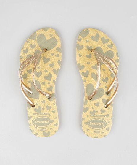 Chinelo-Feminino-Havaianas-Estampado-Coracao-com-Glitter-Dourado-9323940-Dourado_1