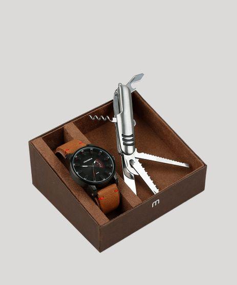 Kit-de-Relogio-Analogico-Mondaine-Masculino---Canivete---76554GPMVPH4K-Grafite-9401883-Grafite_1