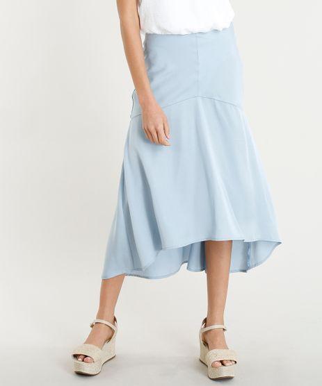 Saia-Feminina-Midi-com-Recorte-Azul-Claro-9279391-Azul_Claro_1