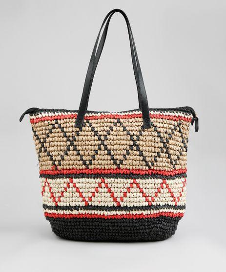 Bolsa-Shopper-Feminina-de-Palha-Etnica-Preta-9268313-Preto_1