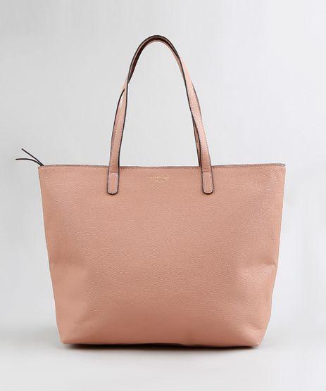 Bolsa-Shopper-Feminina-com-Alcas-Fixas-Rose-9250984-Rose_1