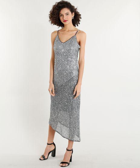 Vestido-Feminino-Midi-Assimetrico-em-Paetes-Alcas-Finas-Prateado-9260770-Prateado_1