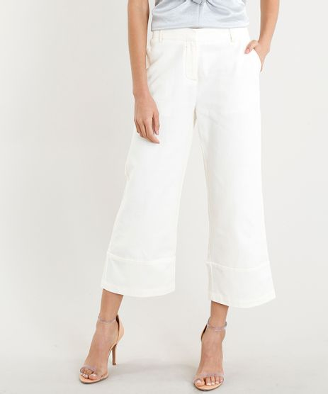 Calca-Pantacourt-Feminina-com-Recorte-na-Barra-Off-White-9251790-Off_White_1