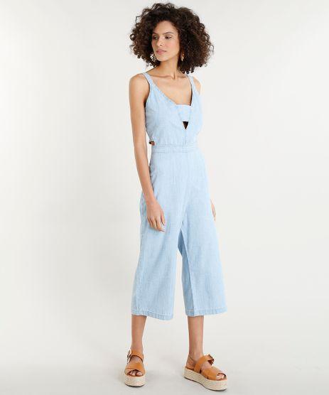 Macacao-Pantacourt-Jeans-Feminino-com-Vazados-Azul-Claro-9346382-Azul_Claro_1