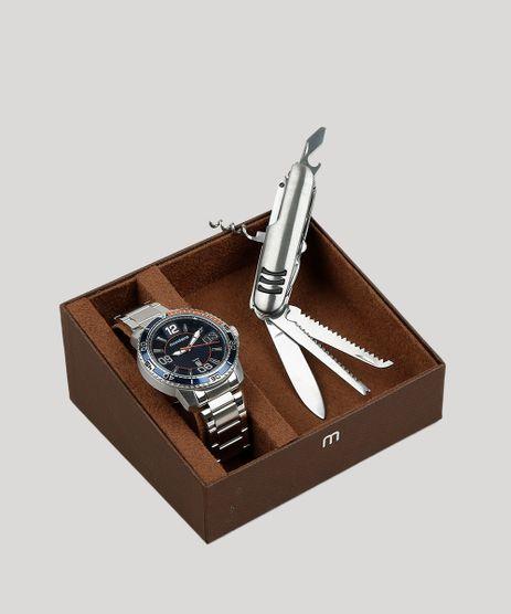 Kit-de-Relogio-Analogico-Mondaine-Masculino---Canivete---53697G0MVNS2K-Prateado-9401117-Prateado_1