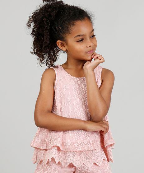 Conjunto-Infantil-de-Regata---Short-em-Renda-Floral-Rosa-9324056-Rosa_1