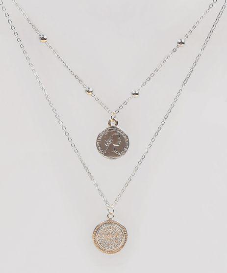 Colar-Feminino-Duplo-com-Medalhas-Dourado-9289210-Dourado_1