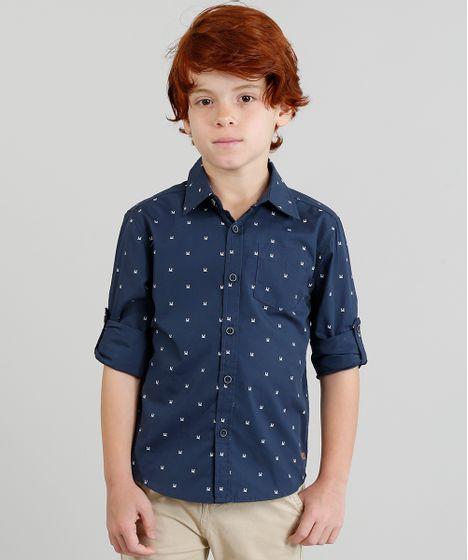 e45e62988b Camisa Infantil Estampada