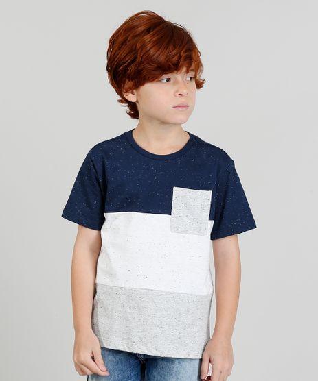 Camiseta-Infantil--Tubarao--com-Capuz-Manga-Curta-Gola-Careca-Cinza-Mescla-Claro-9372049-Cinza_Mescla_Claro_1