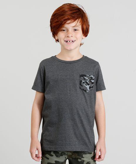 Camiseta-Infantil-com-Bolso-Estampado-Manga-Curta-Gola-Careca-Cinza-Mescla-Escuro-9329119-Cinza_Mescla_Escuro_1