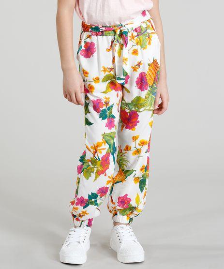 Calca-Clochard-Infantil-Estampado-Floral-Branca-9388942-Branco_1
