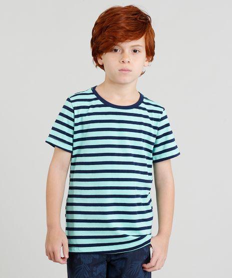 Camiseta-Infantil-Listrada-Manga-Curta-Gola-Careca-Verde-Agua-9325963-Verde_Agua_1