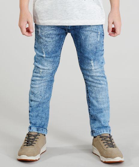 Calca-Jeans-Infantil-Slim-Marmorizada-Azul-Claro-9377756-Azul_Claro_1