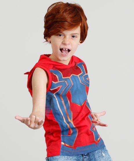 Regata-Infantil-Homem-Aranha-com-Capuz-Mascara-Vermelha-9380554-Vermelho_1