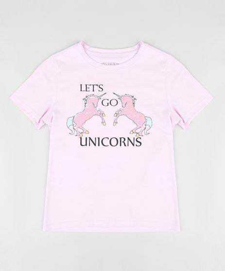 Blusa-Infantil-Unicornios-com-Paete-Dupla-Face-Manga-Curta-Decote-Redondo-Lilas-9317326-Lilas_1
