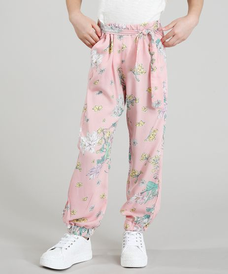 Calca-Clochard-Infantil-Estampado-Floral-Rose-9388941-Rose_1
