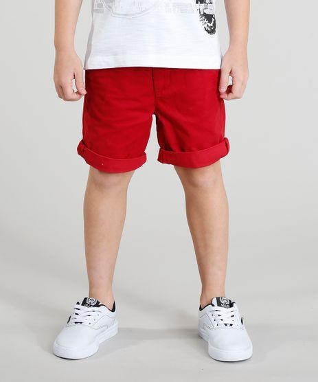 Bermuda-Color-Infantil-com-Cinto-Cadarco-Listrado-Vermelha-9193832-Vermelho_1
