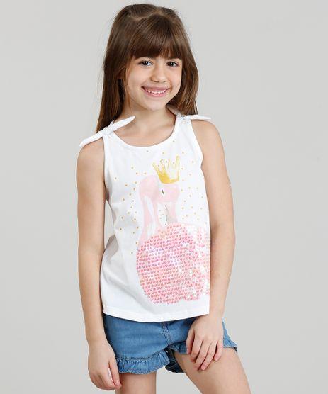 Regata-Infantil-Flamingo-com-Paete-Dupla-Face-Decote-Redondo-Branca-9311824-Branco_1