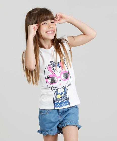 Regata-Infantil-com-Estampa-Menina-com-Paete-Dupla-Face-e-Babado-Off-White-9254089-Off_White_1
