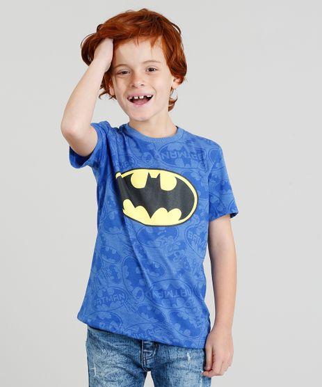 Camiseta-Infantil-Estampada-Batman-Manga-Curta-Azul-9316284-Azul_1