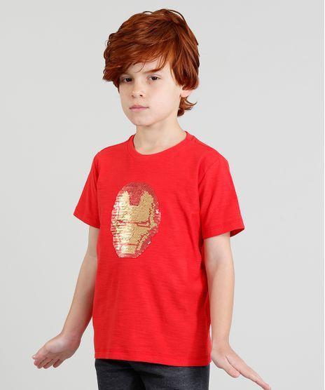 Camiseta-Infantil-Homem-de-Ferro-com-Paete-Dupla-Face-Manga-Curta-Gola-Careca-Vermelha-9375161-Vermelho_1