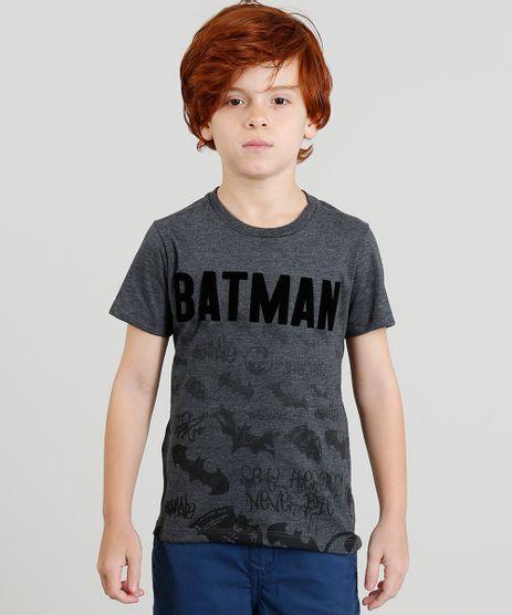 Camiseta-Infantil-Batman-Manga-Curta-Gola-Careca-Cinza-Mescla-9219656-Cinza_Mescla_1
