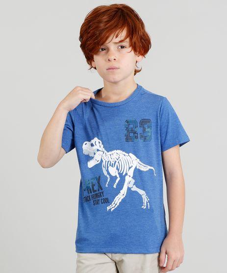 Camiseta-Infantil-Dinossauro-Manga-Curta-Gola-Careca-Azul-9378676-Azul_1