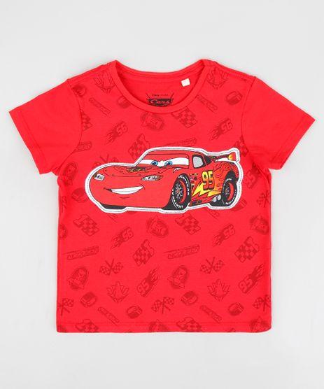 Camiseta-Infantil-Relampago-McQueen-Carros-Manga-Curta-Gola-Careca-Vermelha-9299816-Vermelho_1