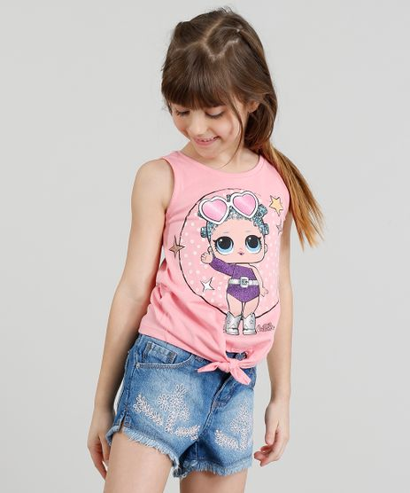 Regata-Infantil-LOL-Surprise-com-No-Decote-Redondo-Rosa-9297080-Rosa_1