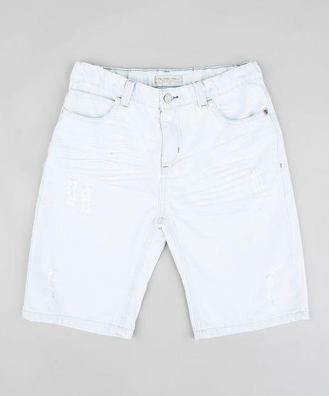 Bermuda-Jeans-Infantil-com-Rasgos-Azul-Claro-9320263-Azul_Claro_1