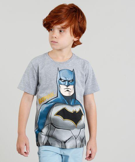 Camiseta-Infantil-Batman-Manga-Curta-Gola-Careca-Cinza-Mescla-9279819-Cinza_Mescla_1