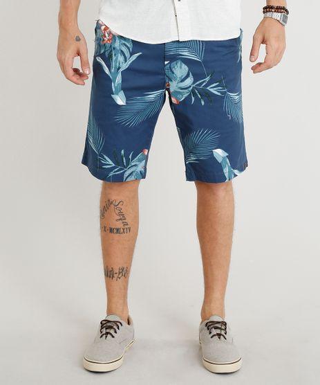 Bermuda-Masculina-Estampada-Floral-Azul-Marinho-9308306-Azul_Marinho_1