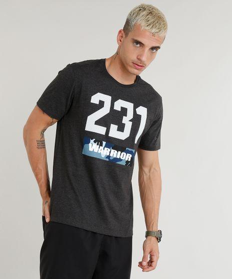 Camiseta-Masculina-Esportiva-Ace--231-Warrior--Manga-Curta-Gola-Careca-Cinza-Mescla-Escuro-9275079-Cinza_Mescla_Escuro_1
