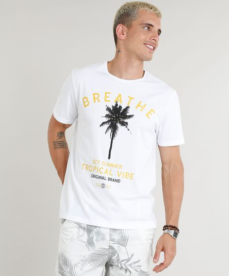 Camiseta-Masculina--Breathe--Manga-Curta-Gola-Careca-Branca-9276507-Branco_1