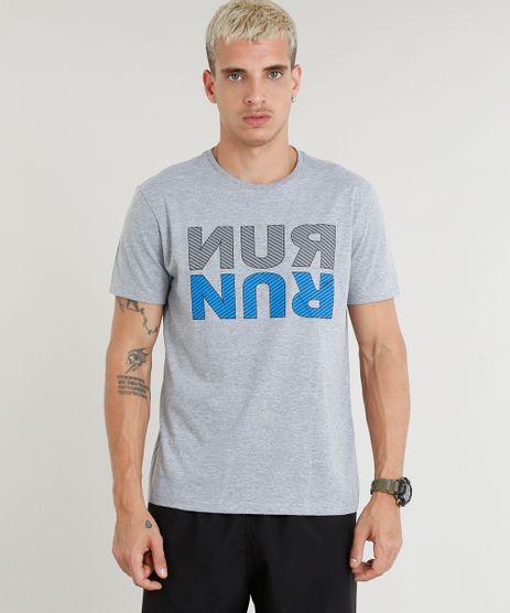 Camiseta-Masculina-Esportiva-Ace--Run--Manga-Curta-Gola-Careca-Cinza-Mescla-9275078-Cinza_Mescla_1