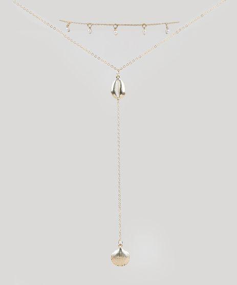 Kit-de-2-Gargantilhas-Choker-Feminino-com-Buzios-Dourado-9289557-Dourado_1